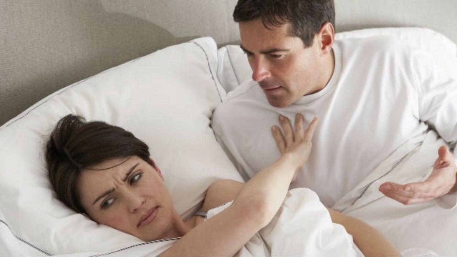 Муж не удовлетворен